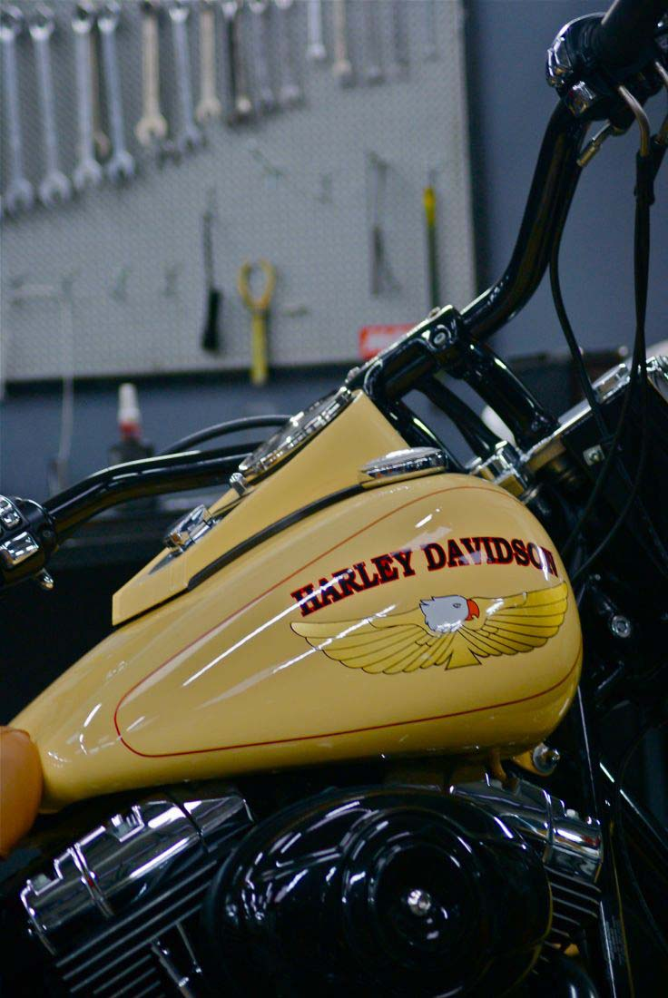 Deluxe Harley Davidson Red Choppers (9)