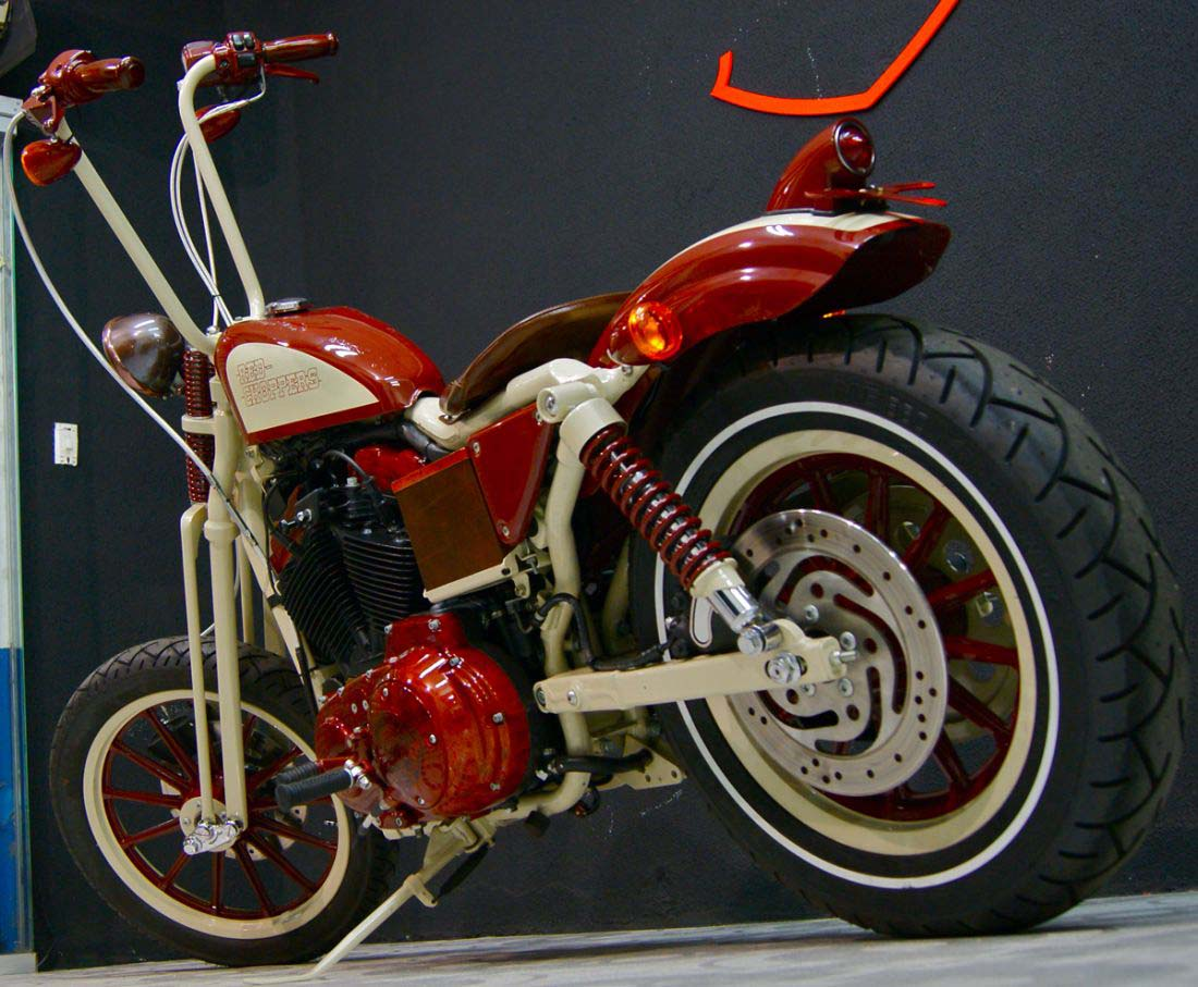 Red Choppers harley davidson (10)