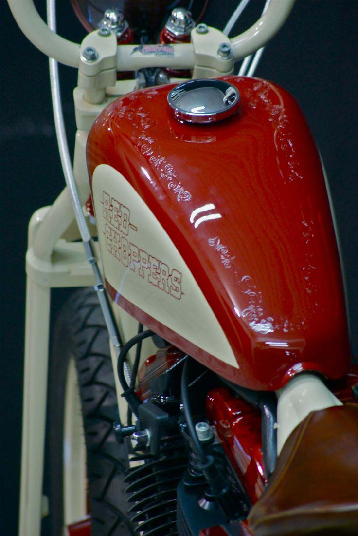 Red Choppers harley davidson (13)
