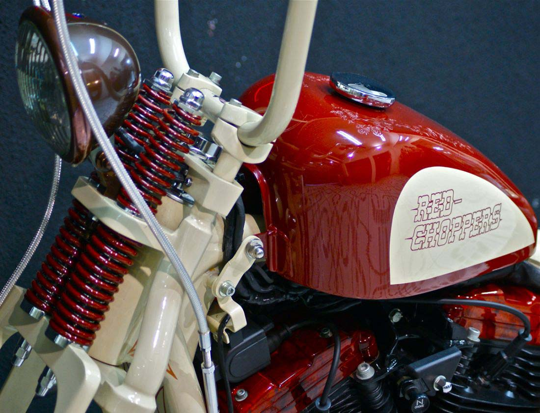 Red Choppers harley davidson (14)