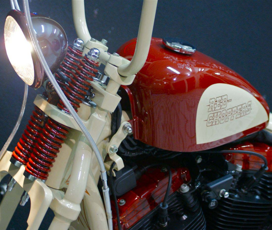 Red Choppers harley davidson (16)