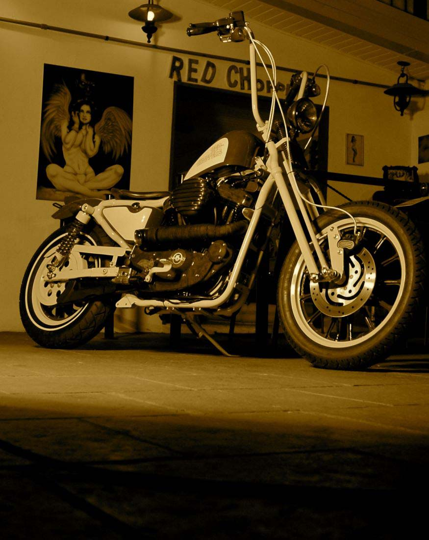 Red Choppers harley davidson (20)