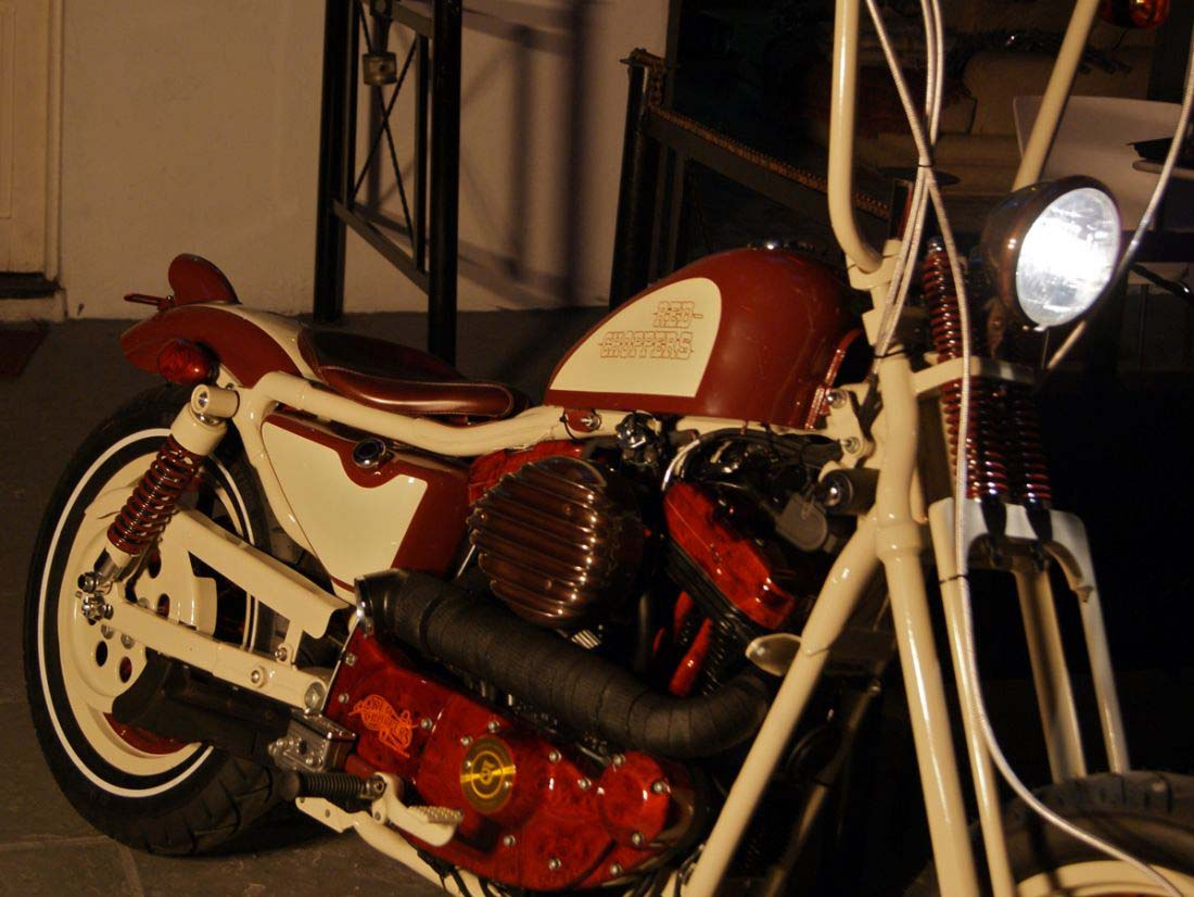 Red Choppers harley davidson (23)