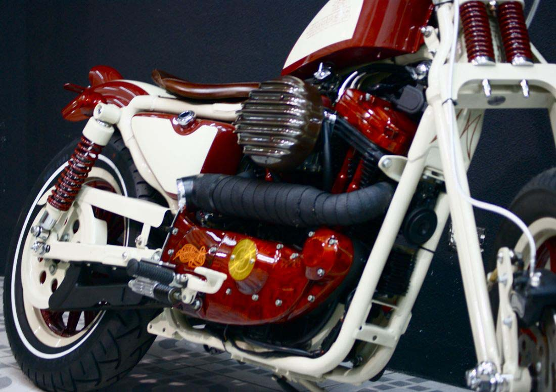 Red Choppers harley davidson (26)