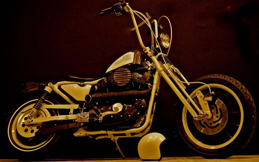 Red Choppers harley davidson (5)