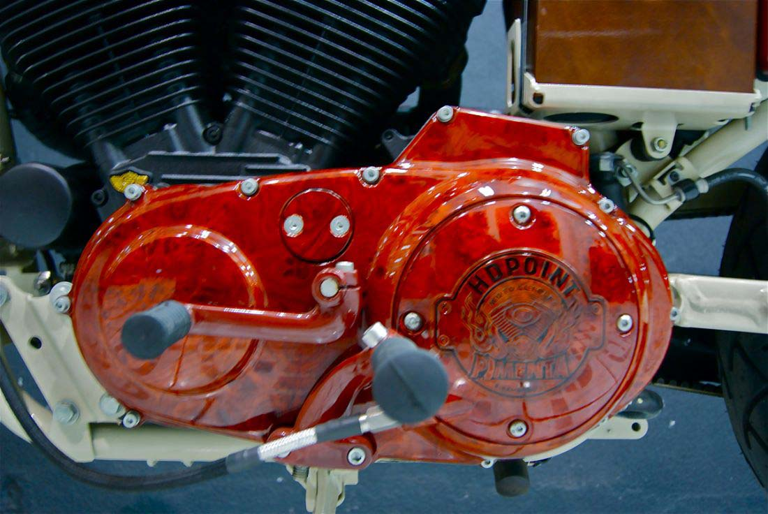 Red Choppers harley davidson (8)