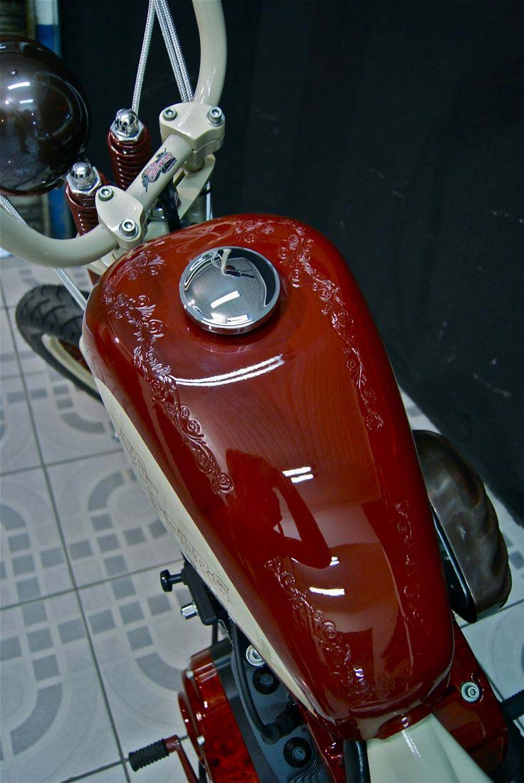 Red Choppers harley davidson (9)